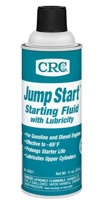 CRC  Jump Start - Starting Fluid with Lubricity (US). Быстрый старт» с эффектом смазки